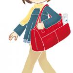 修学旅行のバッグ!中学生ならこの大きさ!