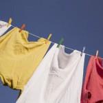 洗濯物の汗くさ~い臭い!取り方は?